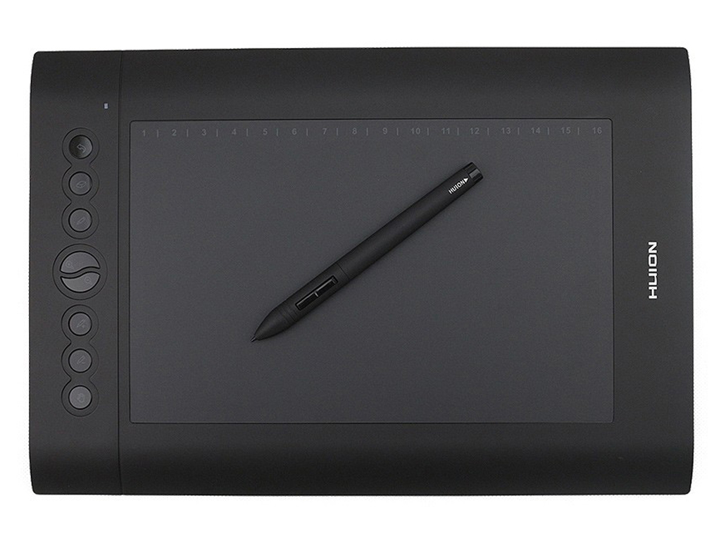 Huion H610 Pro Super Sensitive Working Space