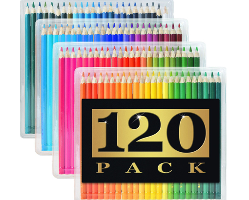 Artist's Choice 120-Pack Colored Pencils review