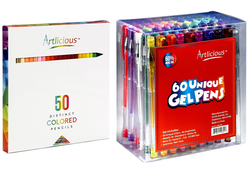 Artlicious - 50 Premium Distinct Colored Pencils review