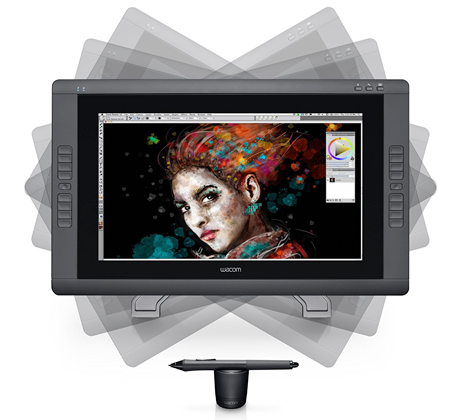Wacom cintiq 22HD Touch Tablet
