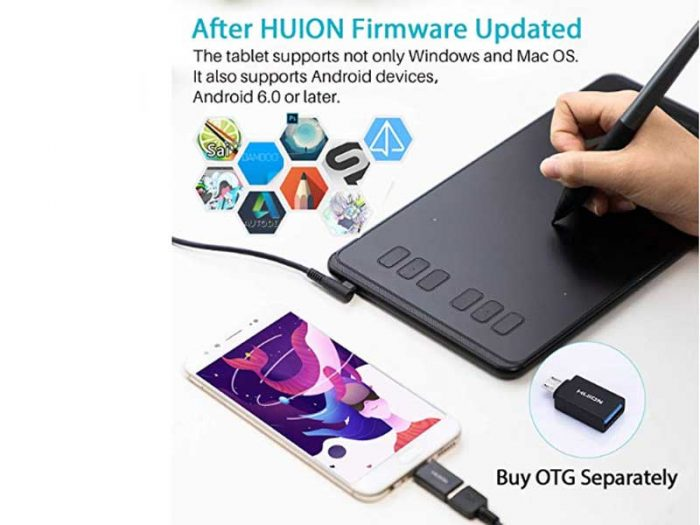 Huion Inspiroy Q11K Review - An Wireless Tablet | Drawing