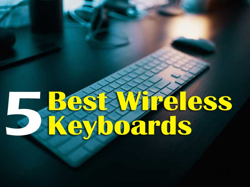 5 Best Wireless Keyboards Review