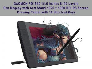 Gaomon Pd1560 Review - The Best Arm Stand Tablet